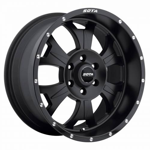 Wheels - SOTA Offroad - SOTA Offroad - 17X9 M-80 Stealth Black 6X5.5, 0mm