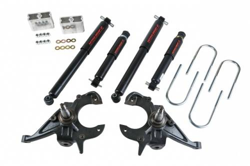 Belltech Suspension - 1982-2004 GM S10/S15 (Std Cab), 1983-1997 GM Blazer/Jimmy 2/3 w/ ND2 Shocks
