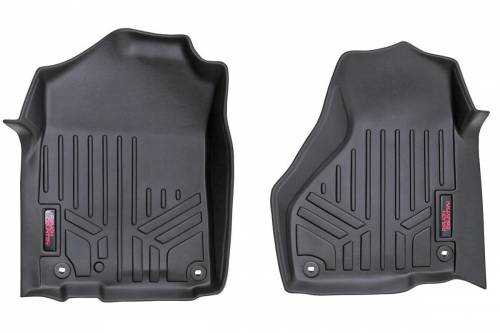 Interior - Floor Mats & Cargo Liners - Rough Country Suspension - 2009-2016 Dodge Ram 1500 Pickup Heavy Duty Floor Mats