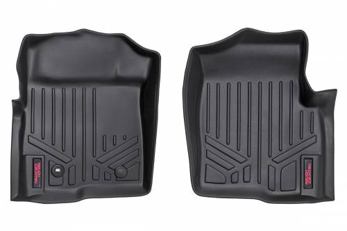 Interior - Floor Mats & Cargo Liners - Rough Country Suspension - 2004-2008 Ford F-150 Pickup Heavy Duty Floor Mats