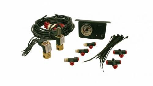 Tow & Haul - Compressor Systems - Air Lift Company - 25802 | Load Controller I Front Air Spring Add On - Dual