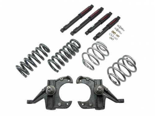 Suspension Components - Accessories - Belltech Suspension - 1963-1970 Chevrolet, GMC C-10 Pickup 2wd 4/5 Lowering Kit - ND2 Shocks