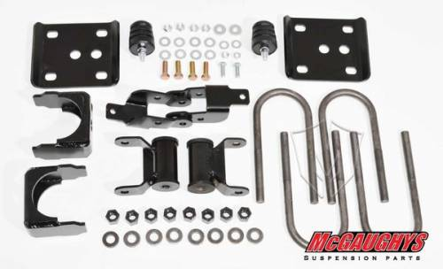 Suspension Components - Flip Kits, C-Notches - Mcgaughys Suspension Parts - 2004-2008 Ford F-150 Pickup 2wd 5 Inch Rear Flip Kit
