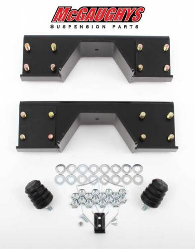 Suspension Components - Flip Kits, C-Notches - Mcgaughys Suspension Parts - 2002-2008 Dodge Ram 1500 2wd Rear C-Notch
