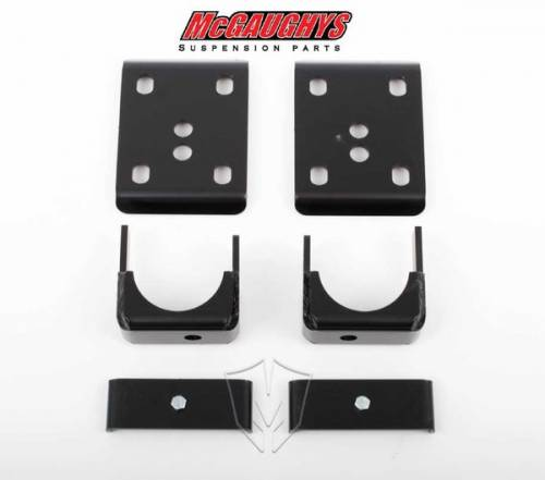 Suspension Components - Flip Kits, C-Notches - Mcgaughys Suspension Parts - 2014-2016 Chevrolet, GMC 1500 Pickup 2wd 7 Inch Rear Flip Kit