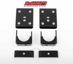 Suspension Components - Flip Kits, C-Notches - Mcgaughys Suspension Parts - 2014-2016 Chevrolet, GMC 1500 Pickup 2wd 7 Inch Rear Flip Kit