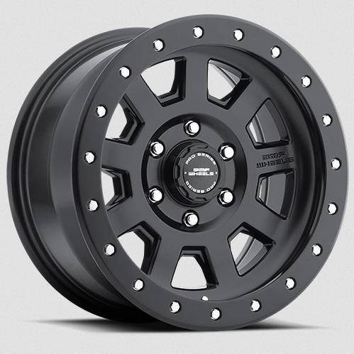 Wheels - BMF Wheels - BMF Wheels - 17X8.5 S.S.D. Stealth Black 6X135mm, +6mm