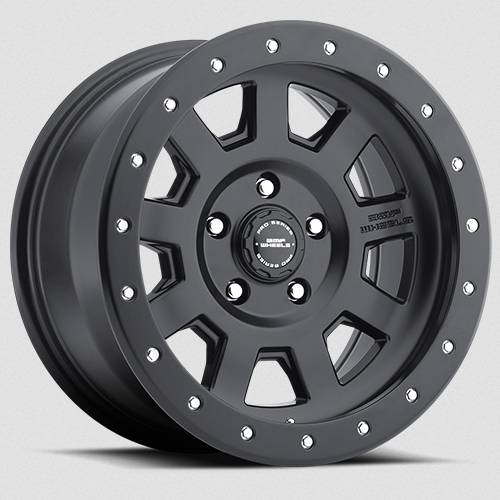 BMF Wheels - 17X8.5 S.S.D. Stealth Black 5X114.3, -6mm