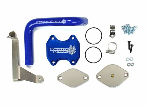 Diesel Performance - EGR Deletes - Sinister Diesel - 2007.5-2009 Dodge Ram 2500, 3500 6.7L EGR Delete Kit