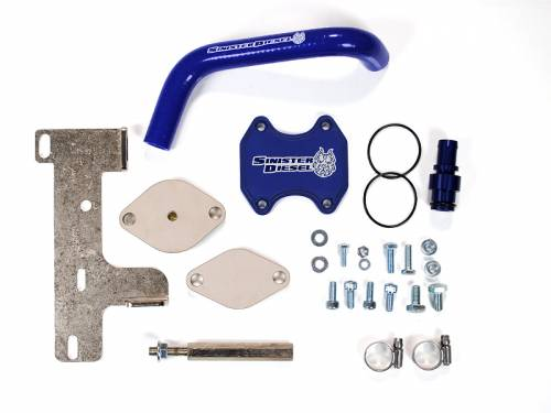 Diesel Performance - EGR Deletes - Sinister Diesel - 2010-2014 Dodge Ram 2500, 3500 6.7L EGR Delete Kit