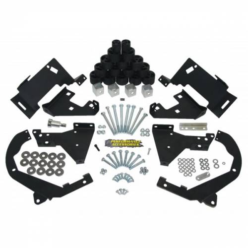 Suspension - Body Lift Kits - Performance Accessories - PA10292 | 2 Inch GM Body Lift Kit