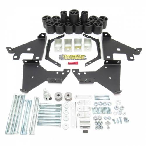 Suspension - Body Lift Kits - Performance Accessories - PA10302 | 2 Inch GM Lift Kit