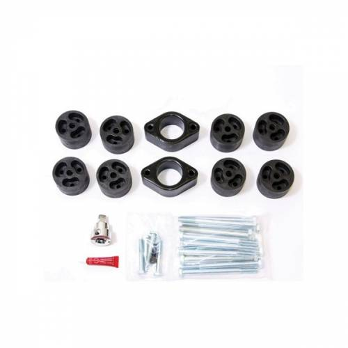 JK Wrangler - JK Body Lifts - Performance Accessories - PA994 | 2 Inch Jeep Body Lift Kit (Automatic Transmission ONLY)
