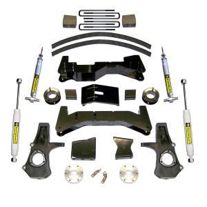 SuperLift - K947 | 2007-2013 Chevrolet, GMC 1500 4wd 8 Inch Suspension | Superide Shocks