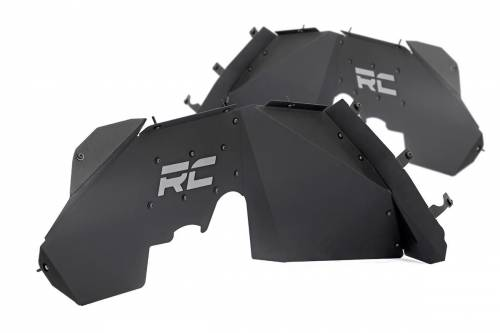 JK Wrangler - JK Armor / Skid Plates - Rough Country Suspension - 1195 | Jeep Front Inner Fenders