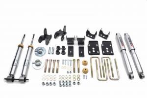 Suspension - Suspension Lowering Kits - Belltech Suspension - 1000SP | Complete 3/5 Lowering Kit with Street Performance Shocks