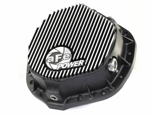 AFE Power - 46-70012 | Rear Differential Cover, Machined Fins | Pro Series