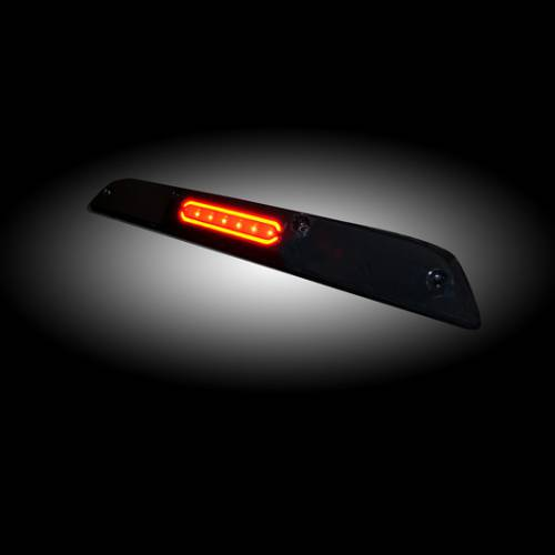 Lighting - LED Third Brake Lights - Recon Truck Accessories - 264129BK | Ultra High Power LED 3RD Brake Light - Smoked