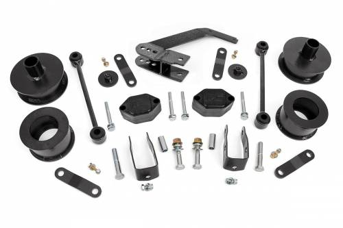 Suspension - Suspension Lift Kits - Rough Country Suspension - 635 | 2.5 Inch Jeep Series II Suspension Lift Kit