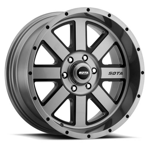 SOTA Offroad - 20X10 A.W.O.L. Anthra-Kote Black 6X5.5, -25mm