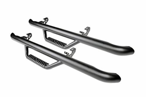 Exterior - Side Steps & Running Boards - Rough Country Suspension - RCJ9746 | Wheel to Wheel Nerf Steps