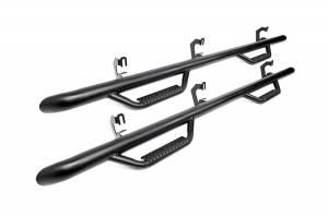 JK Wrangler - JK Nerf Steps - Rough Country Suspension - 90764| Wheel to Wheel Nerf Steps