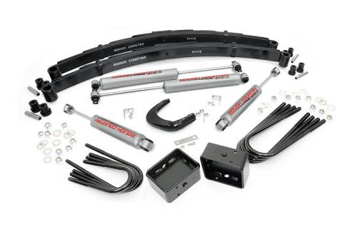 Suspension - Suspension Lift Kits - Rough Country Suspension - 126.20 | 6 Inch GM Suspension Lift Kit (52 Inch Rear Springs)