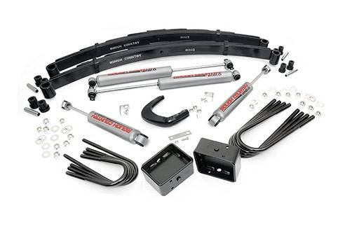Suspension - Suspension Lift Kits - Rough Country Suspension - 145.20 | 4 Inch GM Suspension Lift Kit