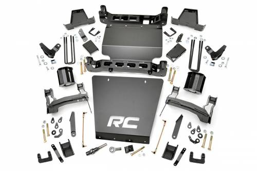 Suspension - Suspension Lift Kits - Rough Country Suspension - 176 | 7 Inch GM Suspension Lift Kit (Stock Cast Aluminum Arms w/ Magneride)