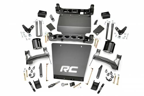 Suspension - Suspension Lift Kits - Rough Country Suspension - 177 | 5 Inch GM Suspension Lift Kit (Denali w/ Magneride)