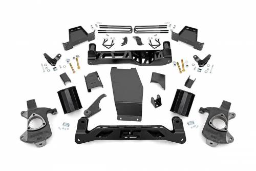 Suspension - Suspension Lift Kits - Rough Country Suspension - 181 | 7.5 Inch GM Suspension Lift Kit (Stock Cast Aluminum Arms w/ Magnaride)