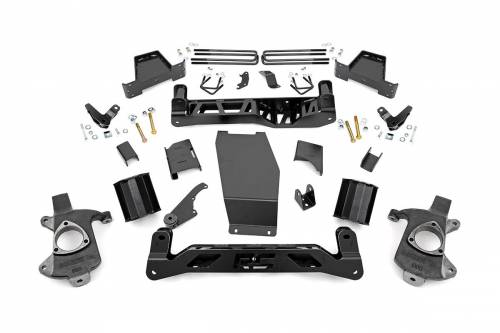 Suspension - Suspension Lift Kits - Rough Country Suspension - 182 | 6 Inch GM Suspension Lift Kit (Stock Cast Aluminum or Stamped Steel Arms w/ Magnaride)
