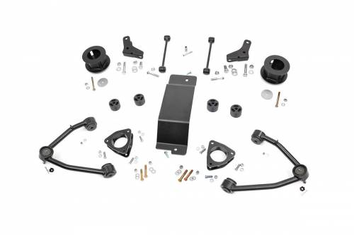 Suspension - Suspension Lift Kits - Rough Country Suspension - 193.20 | 3.5 Inch GM Suspension Lift Kit (Stock Cast Steel Arms)