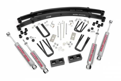 Suspension - Suspension Lift Kits - Rough Country Suspension - 1979-1983 Toyota Pickup 4wd 3 Inch Suspension