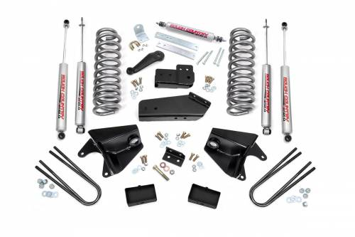 Suspension - Suspension Lift Kits - Rough Country Suspension - 1980-1996 Ford F-150 Pickup 2wd 4 Inch Suspension