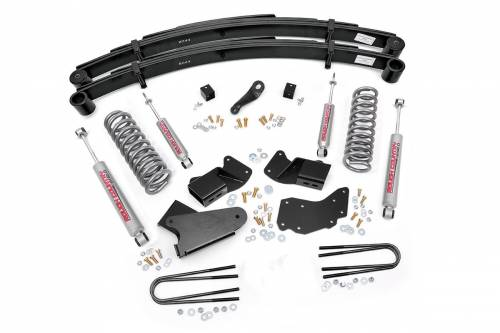 Suspension - Suspension Lift Kits - Rough Country Suspension - 1984-1990 Ford Bronco II 4wd 4 Inch Suspension