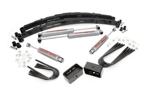 Suspension - Suspension Lift Kits - Rough Country Suspension - 186.20 | 2 Inch GM Suspension Lift Kit (52 Inch Rear Springs)