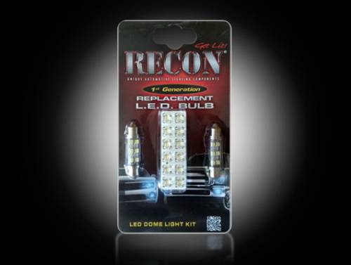 Interior - Interior Lights - Recon Truck Accessories - 264163 | LED Dome Light Replacement Kit