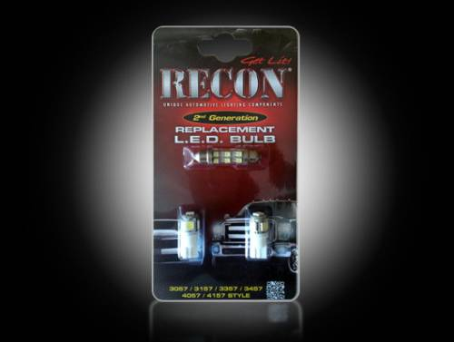 Interior - Interior Lights - Recon Truck Accessories - 264165 | LED Dome Light Replacement Kit