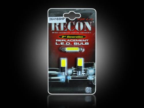 Interior - Interior Lights - Recon Truck Accessories - 264165HP | Ultra High Power LED Dome Light Replacement Kit