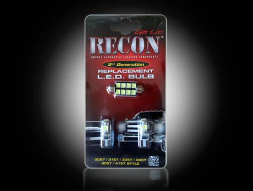 Interior - Interior Lights - Recon Truck Accessories - 264167 | LED Dome Light Replacement Kit