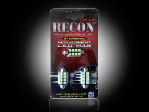 Interior - Interior Lights - Recon Truck Accessories - 264164 | LED Dome Light Replacement Kit