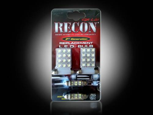 Interior - Interior Lights - Recon Truck Accessories - 264162 | LED Dome Light Replacement Kit