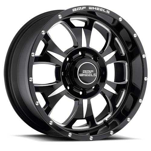 Wheels - BMF Wheels - BMF Wheels - 462B-090816500 | 20X9M-80 Death Metal 8X6.5, 0mm