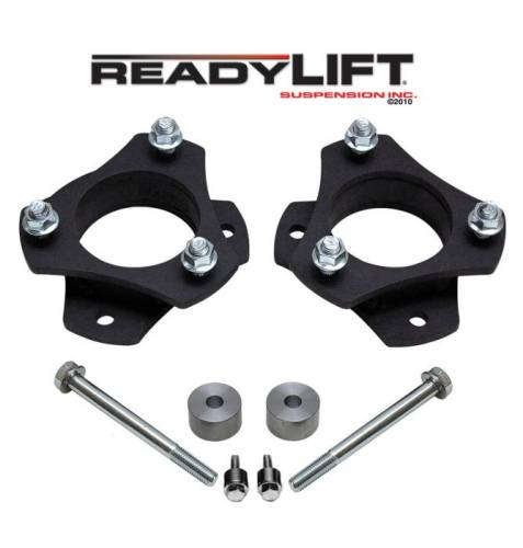 ReadyLIFT Suspensions - 66-5025 | 2.5 Inch Toyota Front Leveling Kit (Strut Extension)