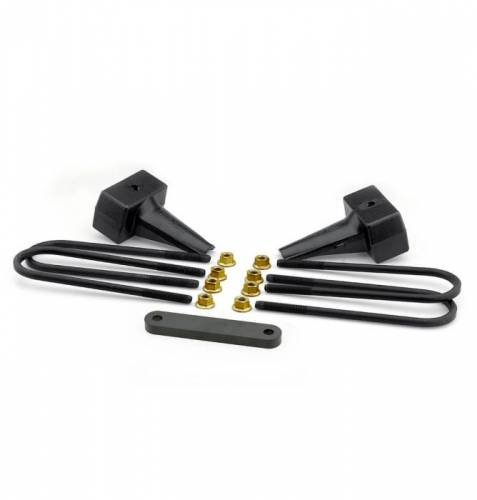Suspension Components - Block & U Bolt Kits - ReadyLIFT Suspensions - 66-2014 | 4 Inch Ford Rear Block & U Bolt Kit