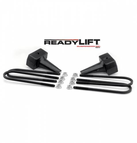 ReadyLIFT Suspensions - 66-2195 | 5 Inch Ford Rear Block & U Bolt Kit