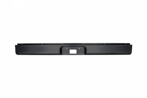 Exterior - Roll Pans - RP-15 | Stamped Steel Roll Pan with License Plate