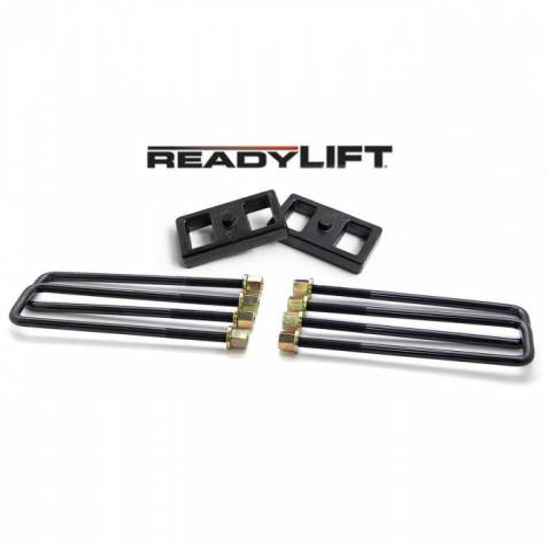 ReadyLIFT Suspensions - 66-3111 | 1 Inch GM Rear Block & U Bolt Kit