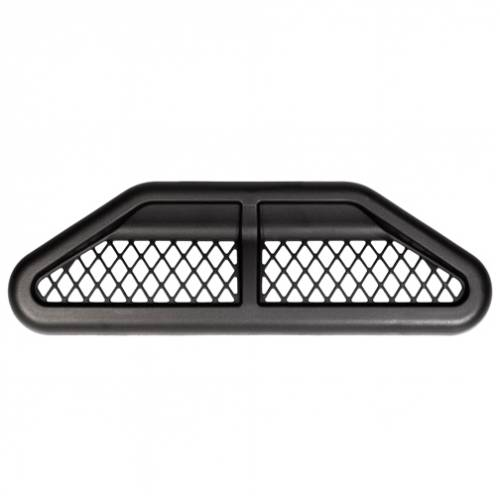 Exterior - Fender Flares - Daystar Suspension - KJ71049BK | Jeep Center Hood Vent